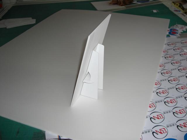 kt板纸飞机航模图纸